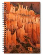 Hoodoos At Sunrise Bryce Canyon National Park Utah Spiral Notebook