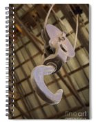 Hook And Pulley Spiral Notebook