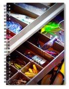 Hook Line And Sinker Spiral Notebook