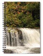 Hooker Falls Spiral Notebook