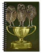 Hoo's On First Spiral Notebook