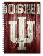 Hoosiers Barn Door Spiral Notebook