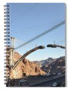 Hoover Dam Bypass Highway Under Construction Spiral Notebook