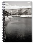 Hoover Dam Intake Towers #2 Spiral Notebook