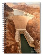 Hoover Dam Scenic View Spiral Notebook