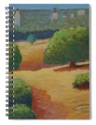 Hoover Tower In Sight Spiral Notebook