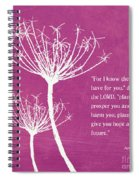 Hope And Future Spiral Notebook