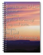 Hope For Morning Spiral Notebook