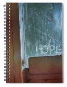 Hope In Prison Door Spiral Notebook