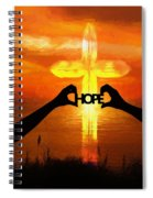 Hope - Painting Spiral Notebook