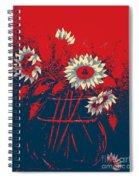 Hope Sunflowers  Spiral Notebook