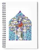 Horahorahora Spiral Notebook