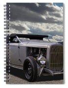 Hord Hot Rod Speedster Spiral Notebook