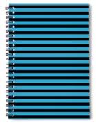 Horizontal Black Inside Stripes 18-p0169 Spiral Notebook
