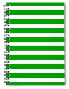 Horizontal White Inside Stripes 09-p0169 Spiral Notebook