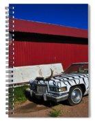 Horn Dog Spiral Notebook