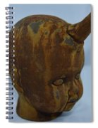 Horned Baby Spiral Notebook