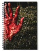 Horror Resurrection Spiral Notebook