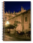 Horse And Carriage Seville Spain Spiral Notebook