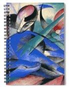 Horse Asleep Spiral Notebook