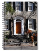 Horse Carriage In Charleston Spiral Notebook