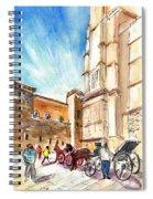 Horse Carriages In Palma De Mallorca Spiral Notebook