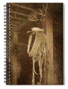 Horse Collar - Hat Spiral Notebook