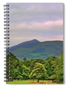 Horse Drawn Carriage At Muckross House Spiral Notebook