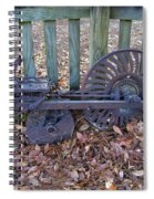 Horse Drawn Corn Planter Spiral Notebook