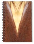 Horse Eyes Love Spiral Notebook