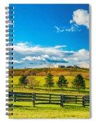 Horse Farm 6 Spiral Notebook
