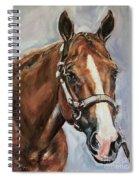 Horse Head Portrait Spiral Notebook