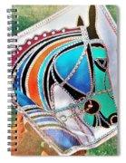 Horse Head Spiral Notebook