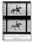 Horse In Motion, 1878 Spiral Notebook