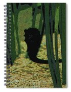 Horse In The Grass Spiral Notebook