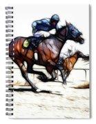 Horse Racing Dreams 1 Spiral Notebook