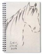 Horse-rest Spiral Notebook