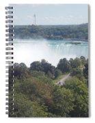 Horse Shoe Falls 1 Spiral Notebook