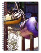 Horse With No Name Spiral Notebook