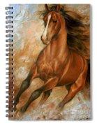 Horse1 Spiral Notebook