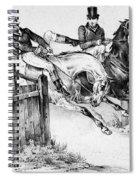 Horseback Riders, C1840 Spiral Notebook