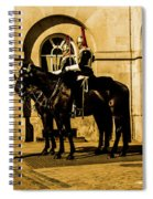 Horseguards Inspection. Spiral Notebook
