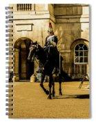 Horseguards. Spiral Notebook