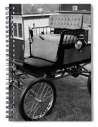 Horseless Carriage-bw Spiral Notebook
