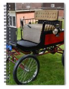 Horseless Carriage-c Spiral Notebook