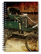 Horseless Carriage Spiral Notebook