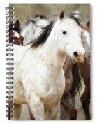 Horses-01 Spiral Notebook