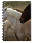 Horses-02 Spiral Notebook