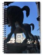 Horses Asses Spiral Notebook