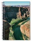 Horseshoe Bend Arizona Colorado River  Spiral Notebook